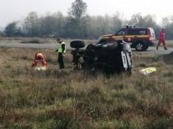 Elicopterul SMURD din Arad a intervenit la un accident mortal