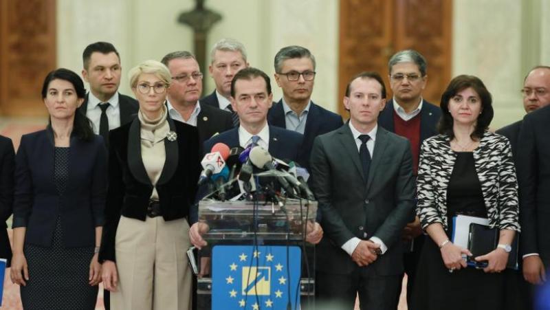Guvernul Orban investit de Parlament! Viorica Dăncilă oficial a rămas someră! Vezi cine sunt noii ministri