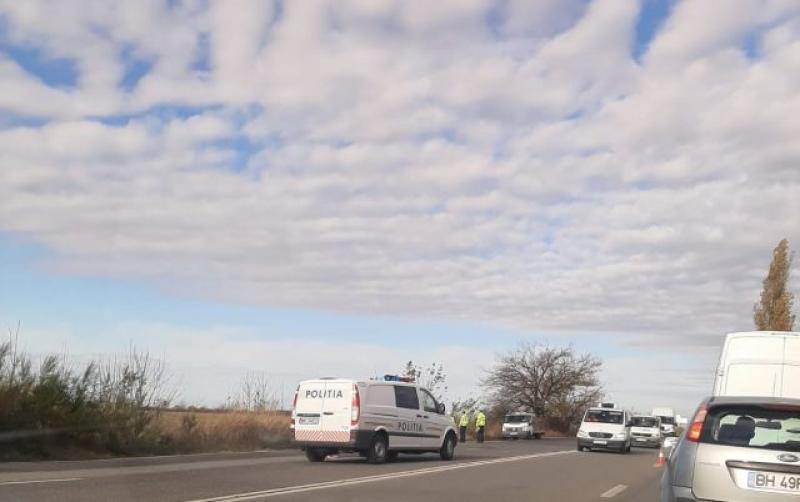 GRAV accident rutier la intrarea în Timișoara. Un bărbat  transportat la spital în stare gravă, inconștient