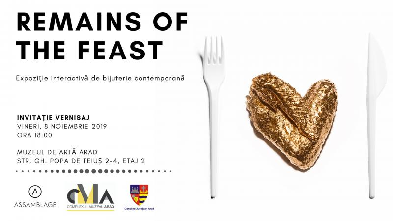 REMAINS OF THE FEAST - Expoziție interactivă de bijuterie contemporană la Muzeul de Artă Arad