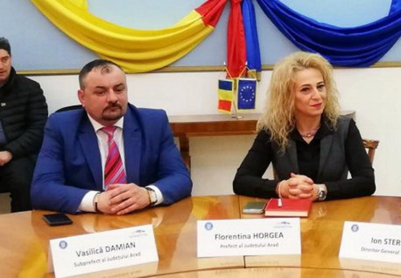 """Scandal fără precedent la Prefectură Arad: noul ministru de interne trimite echipă medicală să rezolve """"virusul"""" care a lovit prefecta şi subprefectul"""