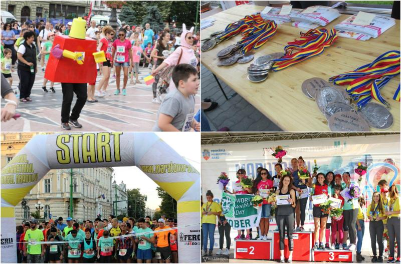 Maratonul, Semimaratonul și Crosul Aradului, la ediția a IX-a