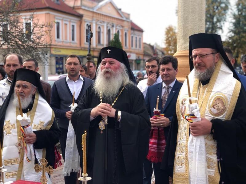 Sfințirea picturii și a lucrărilor de renovare a Bisericii ortodoxe din Ineu