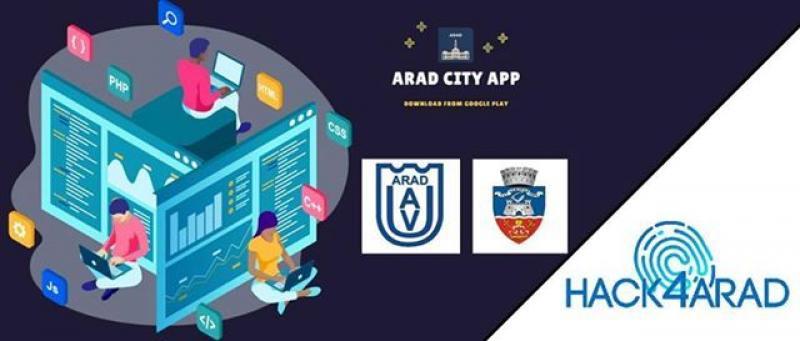 """Premieră în Arad. Primul hackaton are loc la Universitatea """"Aurel Vlaicu"""""""
