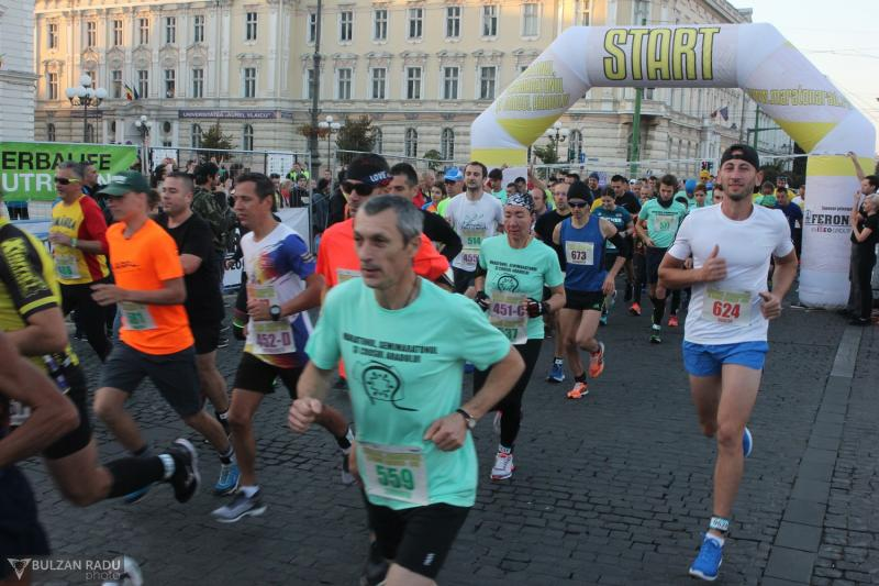 Restricții ale circulației rutiere odată cu Maratonul, Semimaratonul și Crosul Aradului 2019