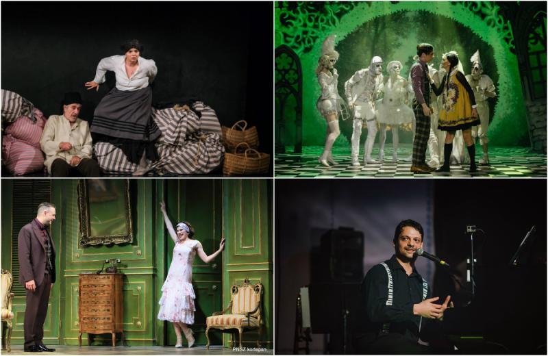 Ultimele zile de Festival la Arad, sub semnul comediei și al muzicii