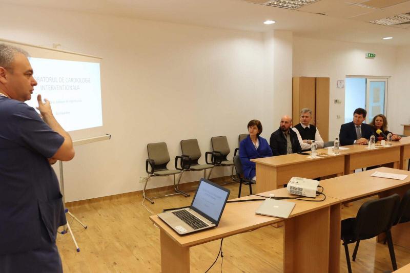 Succes la Spitalul Județean Arad: 281 de arădeni tratați în trei luni, în Laboratorul de Cardiologie Intervențională