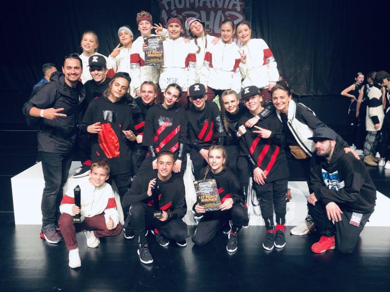 Arădenii de la Doma Art Style campioni ai României la Hip Hop Internaţional