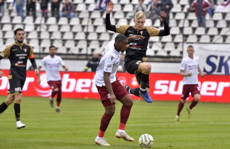 Arădenii aduc victoria gazdelor: Rapid – UTA 2-0