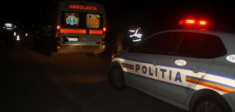 Femeie GRAV accidentată duminică seara, la Sânnicolau Mic