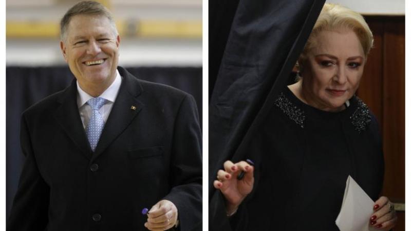 EXIT POLL IRES: Klaus Iohannis - 66,5%, Viorica Dăncilă - 33,5%