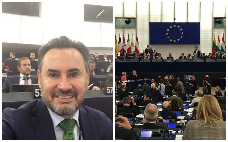 """Gheorghe Falcă : """"Am votat în Parlament noua Comisie Europeană!"""""""