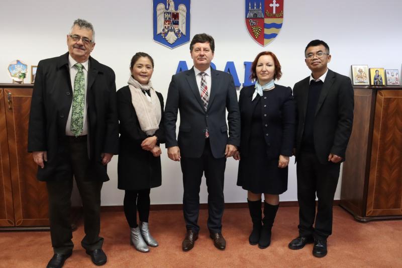 Colaborare cu China în cercetare