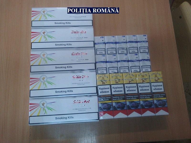 Țigări de contrabandă, vândute în Piața Catedralei