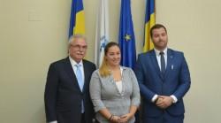 """Eveniment de informare în cadrul proiectului """"Cooperare transfrontalieră eficientă cu scopul creșterii ocupării forței de muncă în județele Arad și Békés"""" la Camera de Comerţ Arad"""