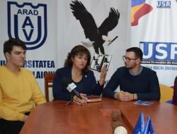 """Studenții Universității """"Aurel Vlaicu"""" Arad au dat startul celei de a XVIII-a ediții a celui mai mare festival studențesc din țară, UNIFEST"""