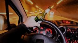 Pericol public! Bărbat prins în Arad în timp ce conducea cu o alcoolemie RECORD și fără a deține permis