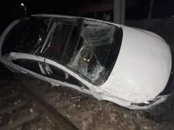 Doi șoferi arădeni turmentați au produs evenimente rutiere soldate cu pagube materiale
