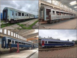 Vagoane modernizate în compunerea trenului IR 1765/1766 pe relația Iași – Timișoara și retur