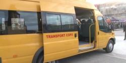 Microbuz transport copii implicat într-un accident în Ghioroc