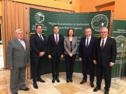 Președintele CCIA, Gheorghe Seculici, a participat la aniversarea celor 20 de ani de la înființarea Secțiunii Ungaro-Române a Camerei de Comerț și Industrie a Ungariei