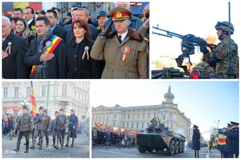La mulţi ani România de la Arad!