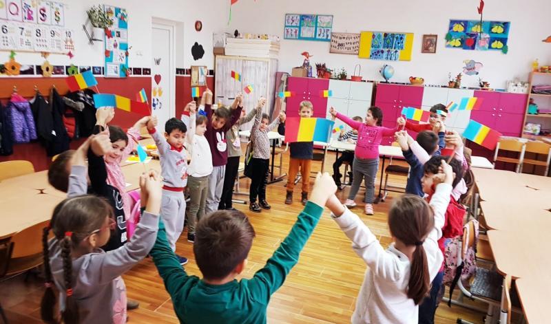 Ziua Națională a României sărbătorită la Liceul cu Program Sportiv Arad