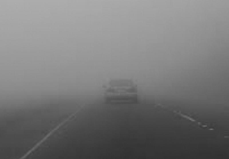 Atenţie mare pe şosele! Cod GALBEN de ceaţă în judeţul Arad!