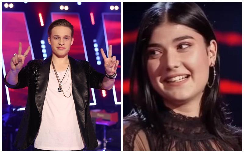Doi arădeni pe podium la Vocea României!