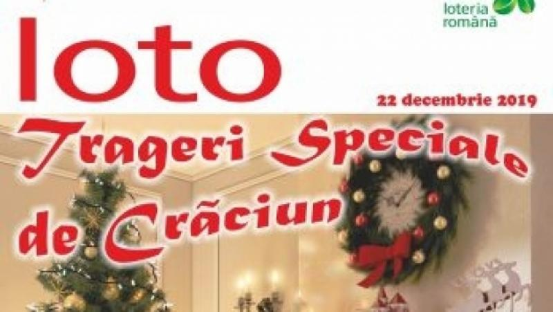 Extragere LOTO: Rezultate numere câștigătoare în 22 decembrie, tragere specială de Crăciun