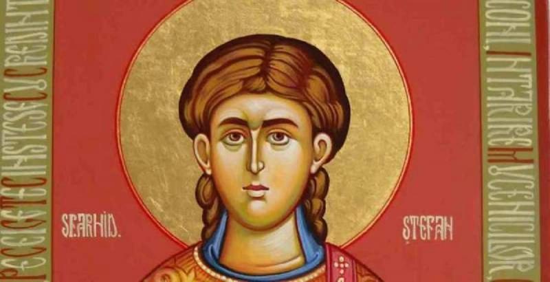 Sfântul Ștefan sărbătorit astăzi 27 decembrie. Ce este bine să faci în această zi