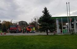 Incendiu la o stație Peco din Vinga