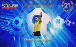 """Ovidiu Hațegan, """"Cel mai bun arbitru"""" în cadrul Galei Fotbalului Românesc 2019!"""