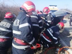 Grav accident pe autostrada A1 între Arad şi Timișoara: cinci oameni sunt încarcerați din care unul decedat!
