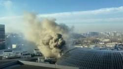 Incendiu la mallul AFI Cotroceni