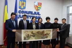 """Vizită cu ocazia inaugurării """"Centrului Romania-China de Medicină Tradițională Chineză"""""""