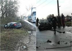 Grav accident la ieșire din Arad cu două victime dintre care una încarcerată