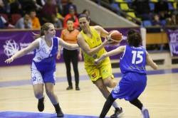 Succes fără probleme cu ultima clasată: FCC Baschet Arad – CSU Rookies Oradea 78-27