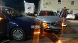 Accident  rutier, miercuri seara în intersecția străzilor Căpitan Ignat cu Roman Ciorogariu