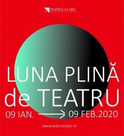 """""""Luna plină de teatru"""", cel mai popular proiect teatral arădean, vine în 2020, cu o mare surpriză"""