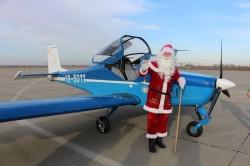Moș Crăciun a venit vineri în zbor pentru 120 de copii din centrele de plasament și casele de tip familial din județul Arad!