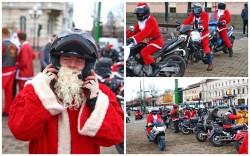 Moş Crăciun pe cai putere şi în acest an la Arad