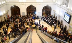 Gara Arad, din nou gazda unui concert de colinde în prag de Crăciun