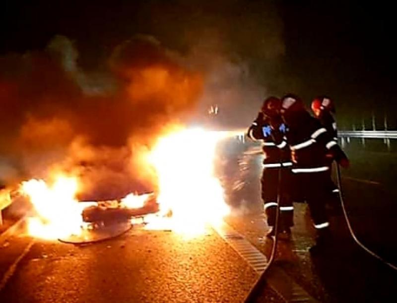 Pompierii arădeni au intervenit în 53 de misiuni în doar 3 zile. AFLĂ ce a luat foc