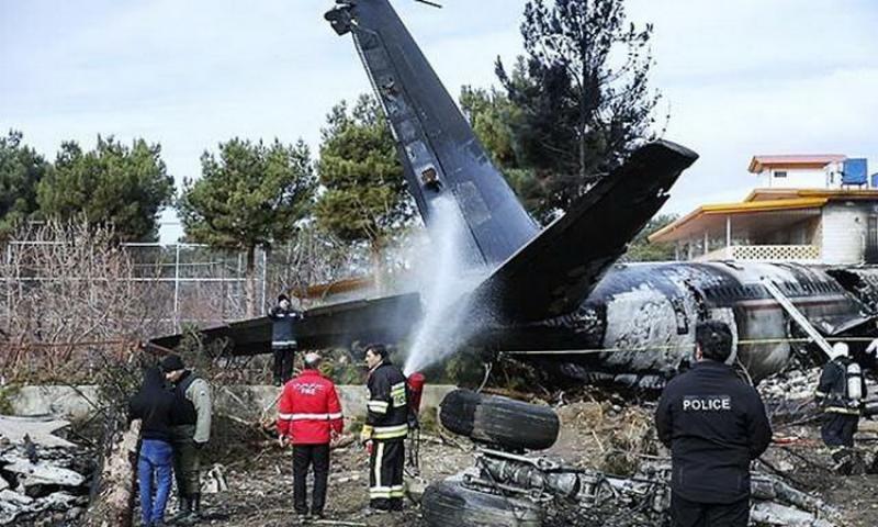 Catastrofă aeriană! Avion ucrainean cu 180 de oameni la bord, prăbuşit în Iran