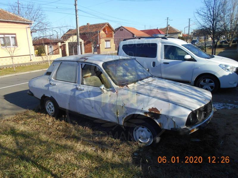 Încă 196 de autovehicule abandonate în Arad identificate de Poliția Locală