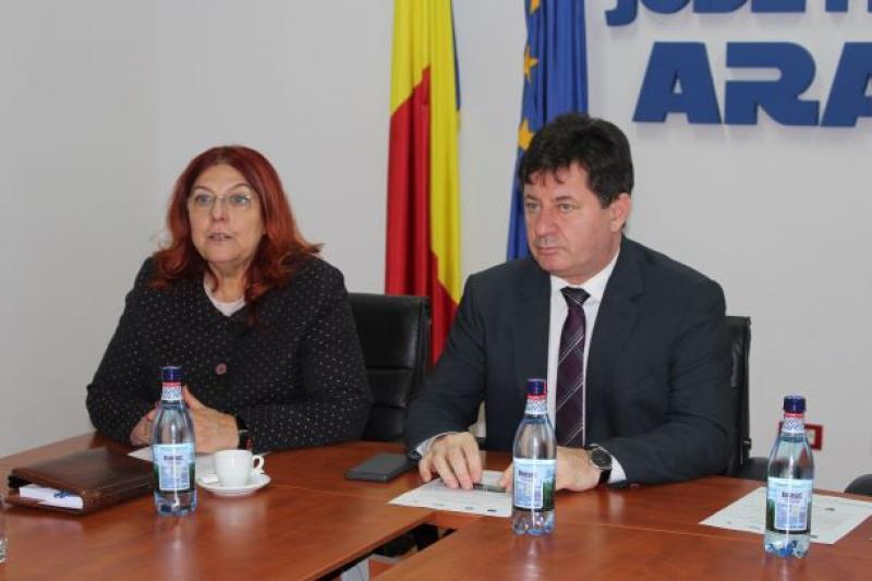 Lansare proiect DAS Arad și Protecția Copilului Arad - două case de timp familial și reabilitarea unui centru de zi