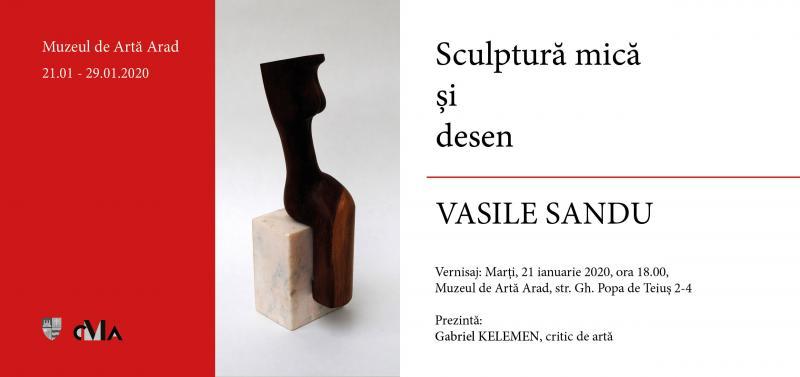 Vernisajul expoziției de SCULPTURĂ MICĂ ȘI DESEN, la Muzeul de Artă