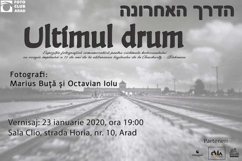 Expoziție de comemorare: 75 de ani de la eliberarea Lagărului de Concentrare de la Auschwitz