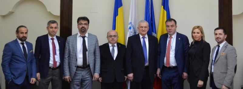 Vizită oficială a delegaţiei Camerei de Comerţ Artvin, din Turcia, la sediul CCIA Arad